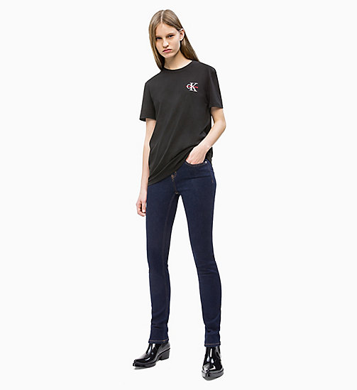 CALVIN KLEIN JEANS CKJ 011 Mid Rise Skinny Jeans - RINSE SMART STRETCH - CALVIN KLEIN JEANS DENIM SHOP - main image 1