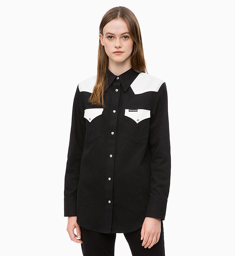Colour Block Western Shirt CALVIN KLEIN®   J20J210272911