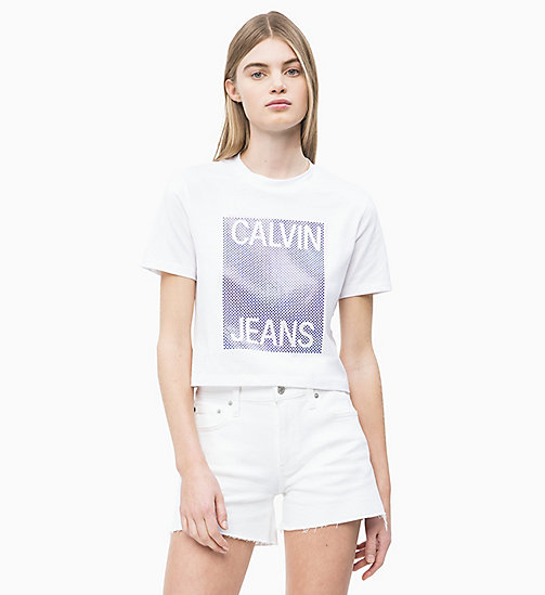 6595243772d Women's T-Shirts | Long Sleeve & Cropped T-Shirts | CALVIN KLEIN®