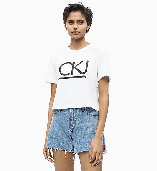 8d0fd1fddfeeb3 £35.00Organic Cotton Cropped T-shirt