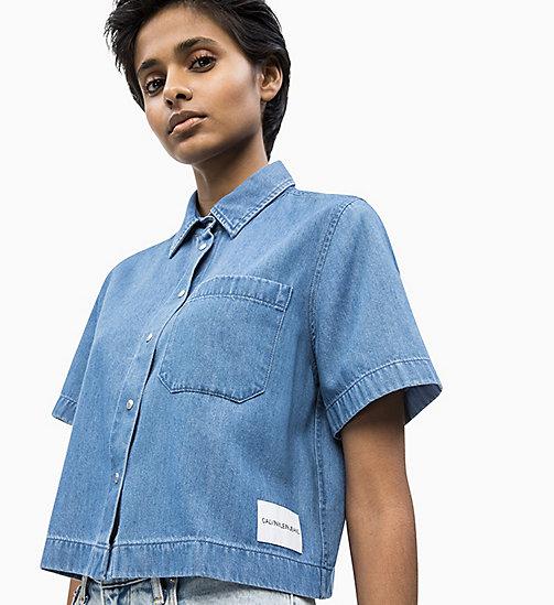 701e3591b45 £70.00Cropped Denim Shirt