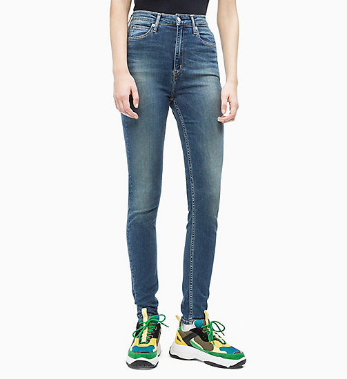 CALVIN KLEIN JEANS CKJ 010 High Rise Skinny Jeans - COLLUM A SMART STRETCH - CALVIN KLEIN JEANS DENIM SHOP - main image