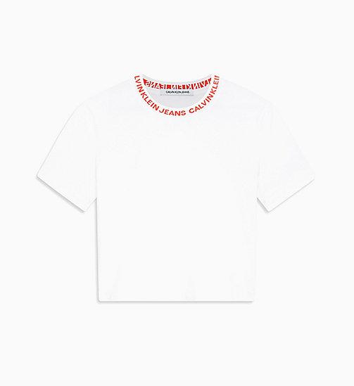 24eabb629f097c £40.00Cropped Logo Collar T-shirt
