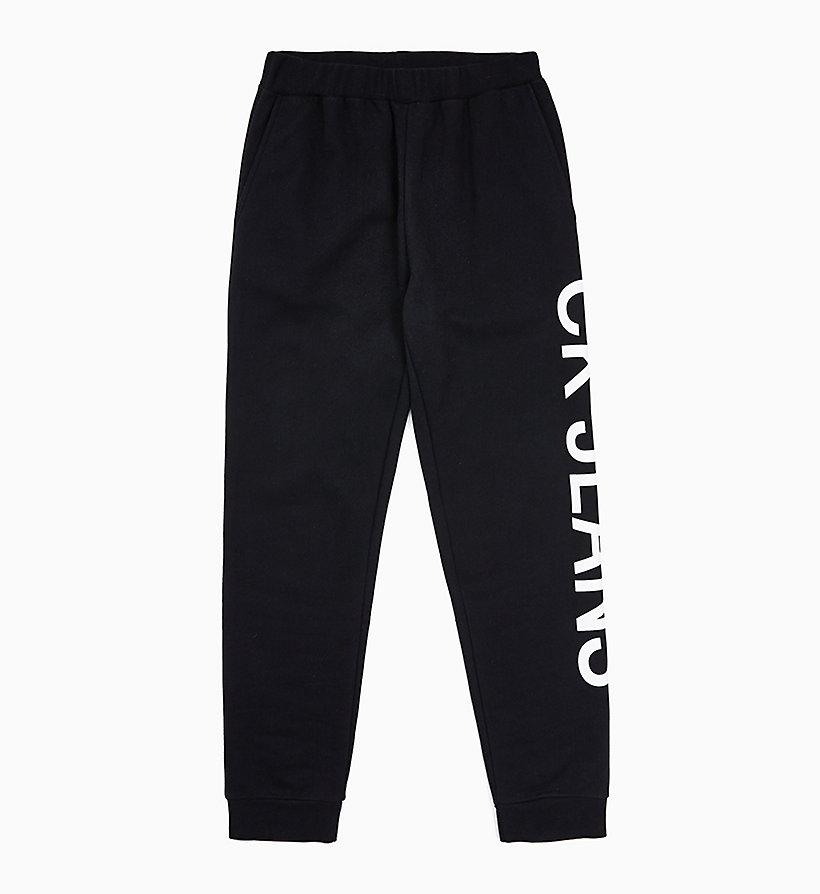 timeless design ecccb 9974c Pantaloni da tuta con logo da donna da donna CALVIN KLEIN ...