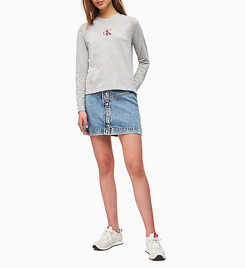55f66946 Women's T-Shirts | Long Sleeve & Cropped T-Shirts | CALVIN KLEIN®
