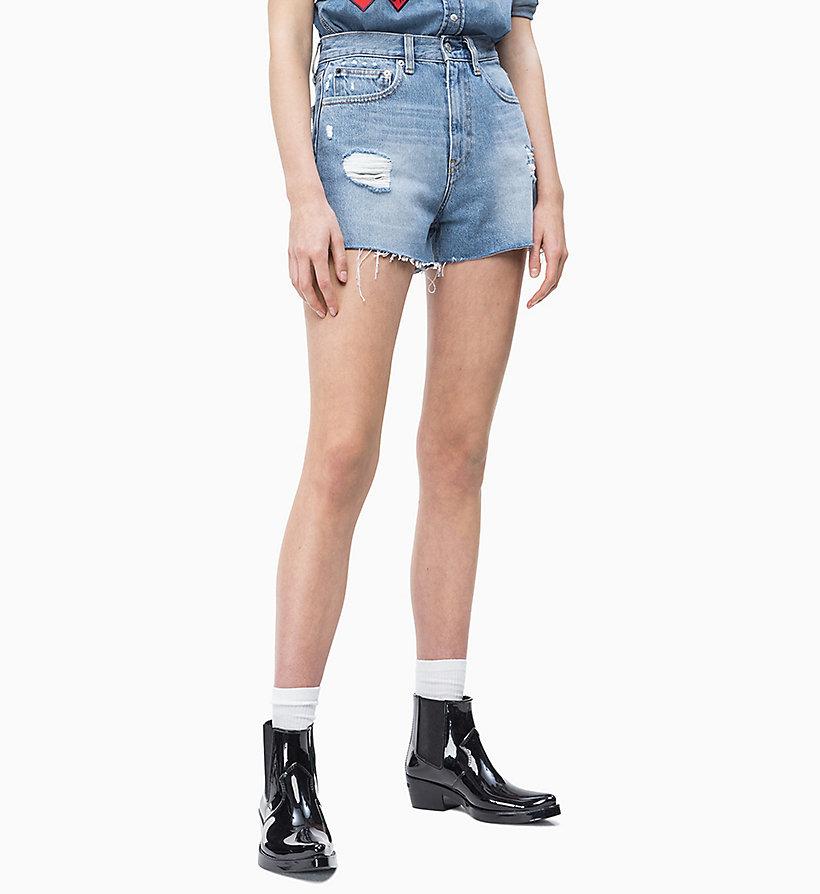 935a5a0429b9e9 Pantaloncini di jeans a vita alta da donna da donna Calvin Klein®    J20J212042911
