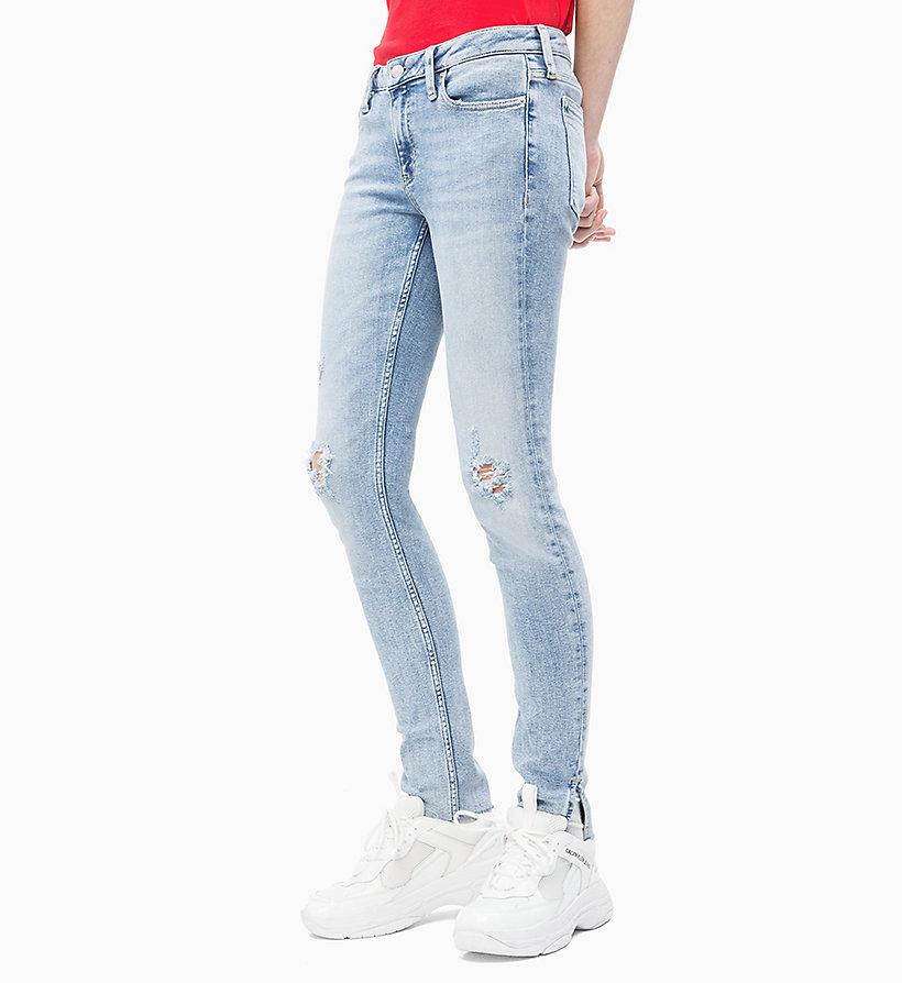 001 Ckj Calvin Klein®J20j212060911 Ankle Super Jeans Skinny 4qSR5cjL3A
