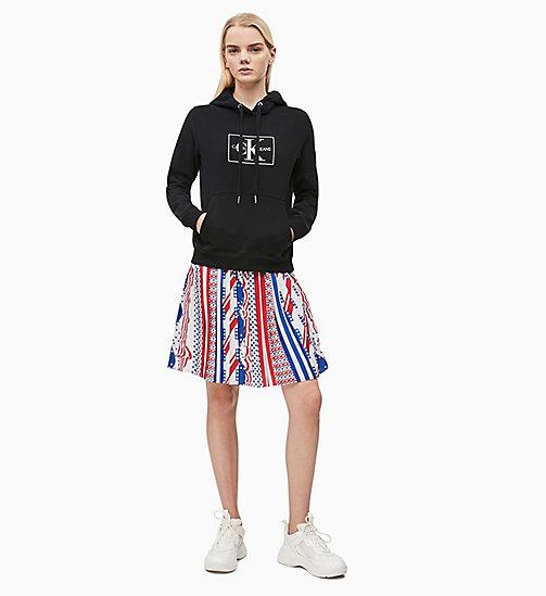 ... CALVIN KLEIN JEANS Sweat-shirt à capuche avec logo - CK BLACK - CALVIN  KLEIN 11535fa425b