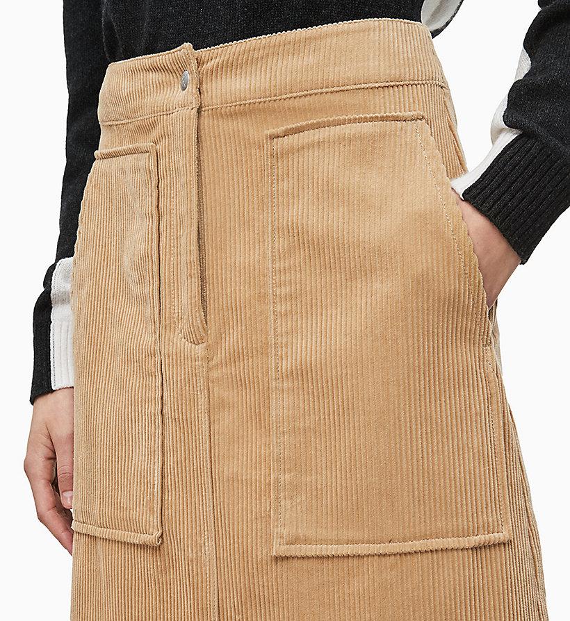corduroy-midi-skirt by calvin-klein