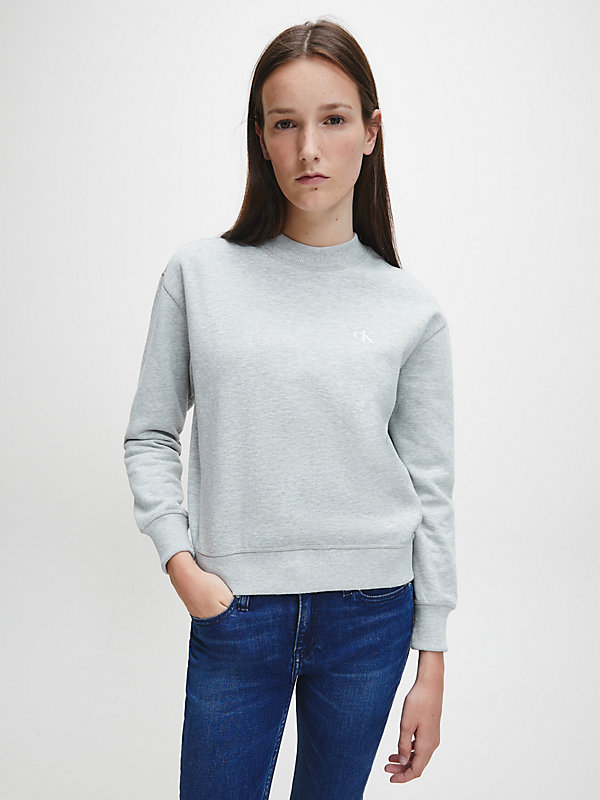 CALVIN KLEIN JEANS  - LIGHT GREY HEATHER -   - main image