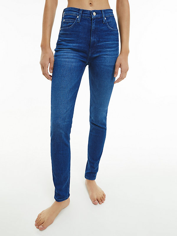 CALVIN KLEIN JEANS  - CA060 MID BLUE -   - main image