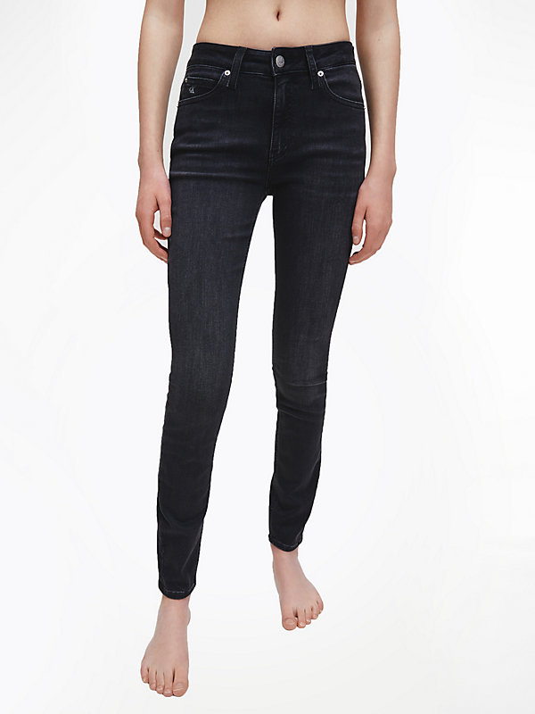 CALVIN KLEIN JEANS  - ZZ002 WASHED BLACK -   - main image