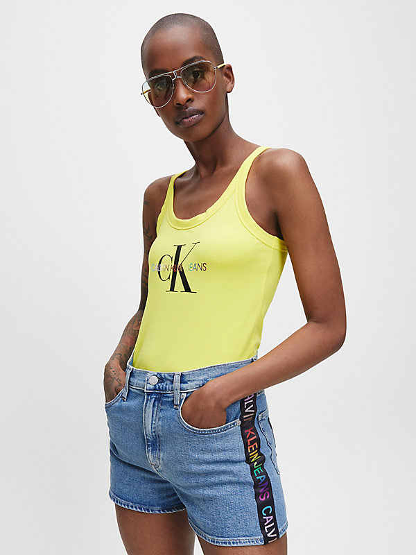 CALVIN KLEIN JEANS  - BLAZING YELLOW -   - main image
