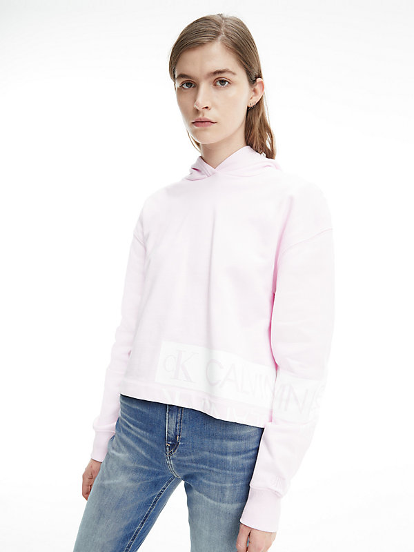 CALVIN KLEIN JEANS  - PEARLY PINK / BRIGHT WHITE -   - main image