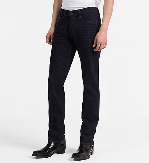 CALVIN KLEIN JEANS Straight Jeans - TOPAZ RINSE - CALVIN KLEIN JEANS CLOTHES - main image