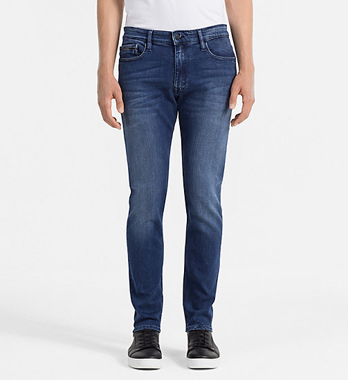 CALVIN KLEIN JEANS Skinny-Jeans - TRUE MID BLUE -  JEANS - main image