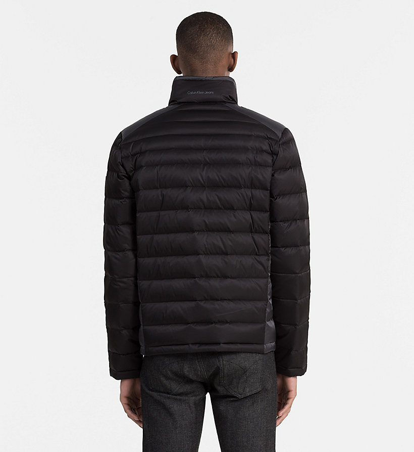 CALVIN KLEIN JEANS Packable Quilted Down Jacket - NIGHT SKY/CK BLACK - CALVIN KLEIN JEANS MEN - detail image 2