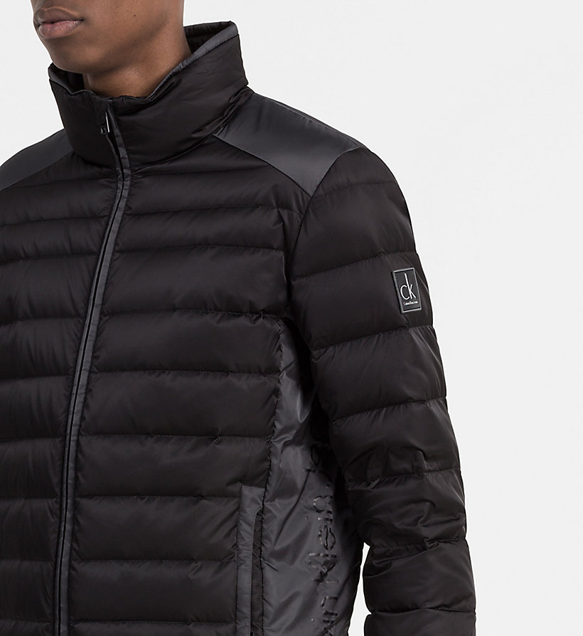 CALVIN KLEIN JEANS Packable Quilted Down Jacket - NIGHT SKY/CK BLACK - CALVIN KLEIN JEANS MEN - detail image 3