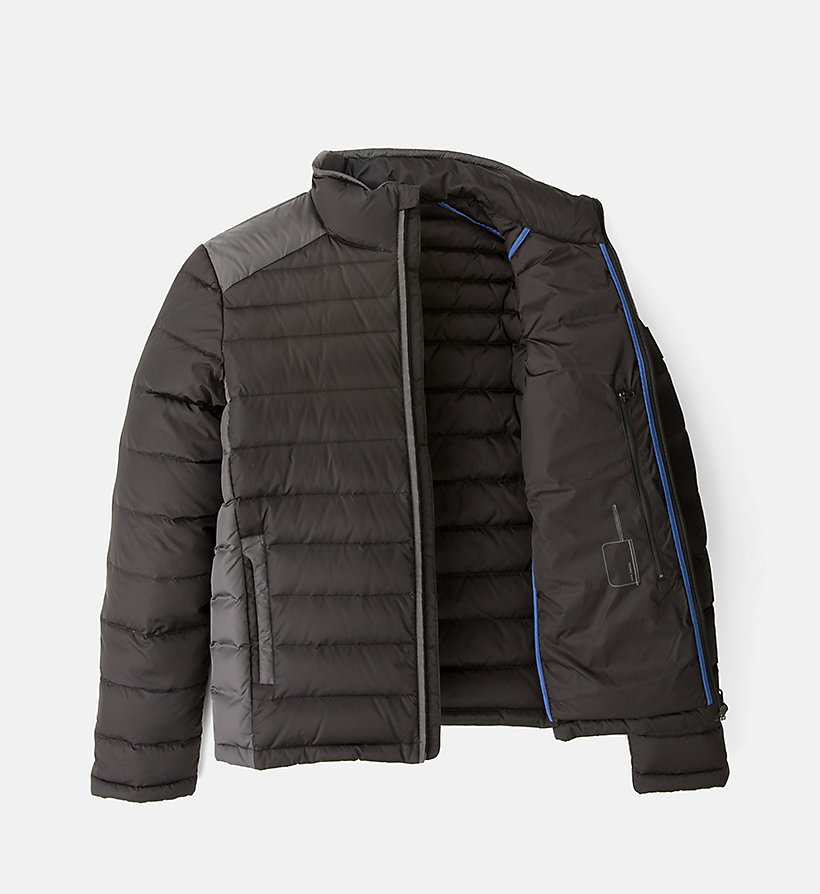 CALVIN KLEIN JEANS Packable Quilted Down Jacket - NIGHT SKY/CK BLACK - CALVIN KLEIN JEANS MEN - detail image 4