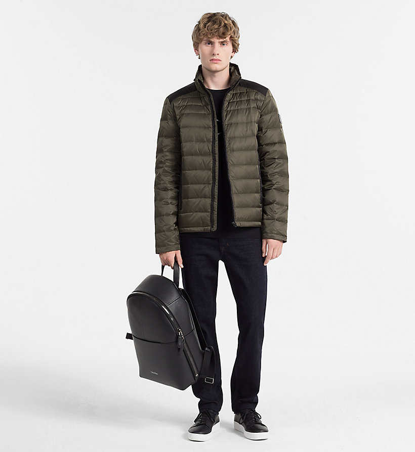 CALVIN KLEIN JEANS Packable Quilted Down Jacket - CK BLACK - CALVIN KLEIN JEANS MEN - detail image 1
