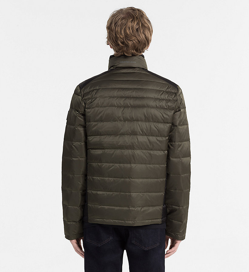 CALVIN KLEIN JEANS Packable Quilted Down Jacket - CK BLACK - CALVIN KLEIN JEANS MEN - detail image 2