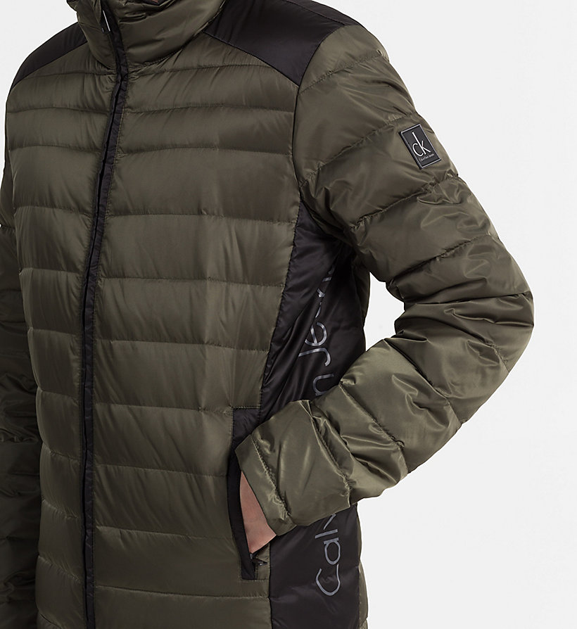 CALVIN KLEIN JEANS Packable Quilted Down Jacket - CK BLACK - CALVIN KLEIN JEANS MEN - detail image 3
