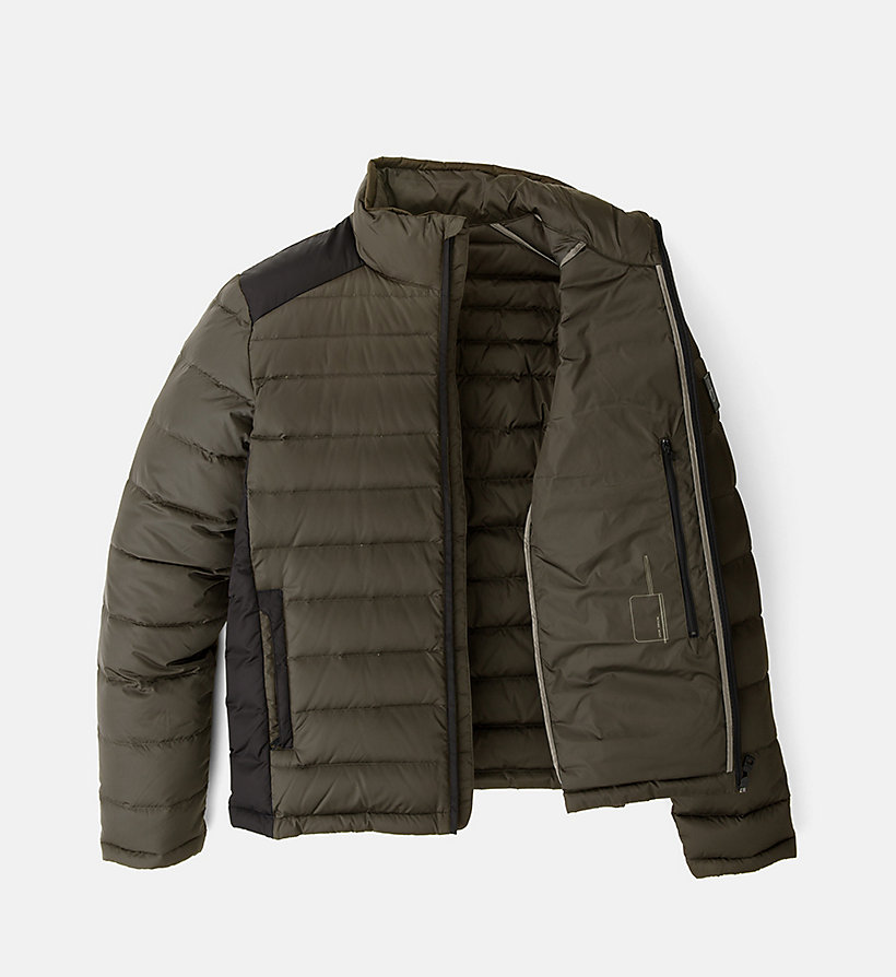 CALVIN KLEIN JEANS Packable Quilted Down Jacket - CK BLACK - CALVIN KLEIN JEANS MEN - detail image 4