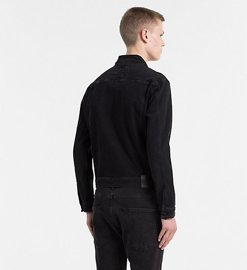 CALVIN KLEIN JEANS Джинсовая куртка - RICH BLACK - CALVIN KLEIN JEANS #MYCALVINS MEN - подробное изображение 1