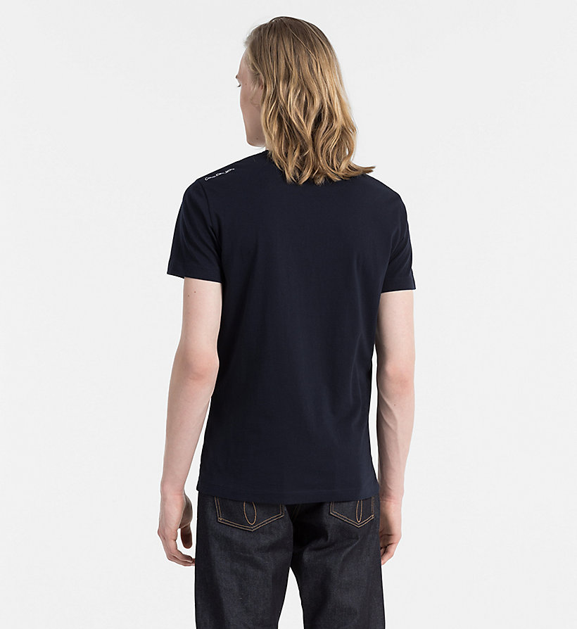 CALVIN KLEIN JEANS Organic Cotton T-shirt - LIGHT GREY HEATHER - CALVIN KLEIN JEANS T-SHIRTS - detail image 2