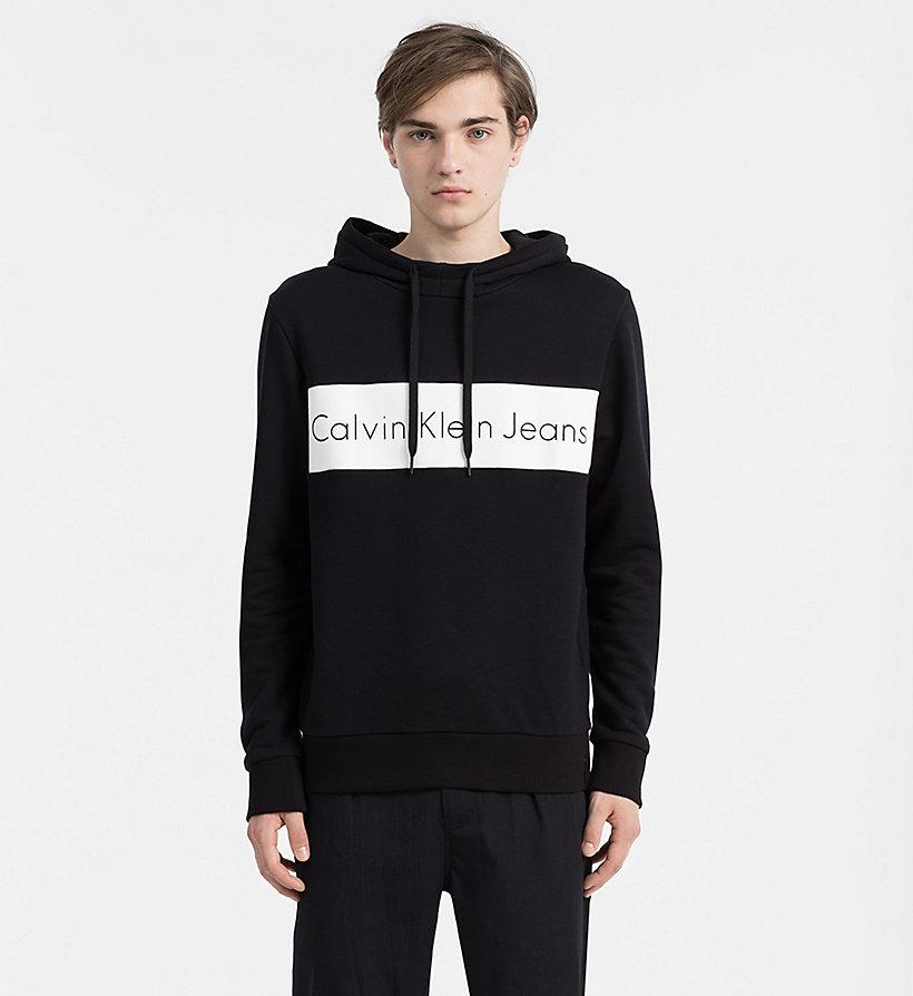logo hoodie calvin klein j30j305965. Black Bedroom Furniture Sets. Home Design Ideas