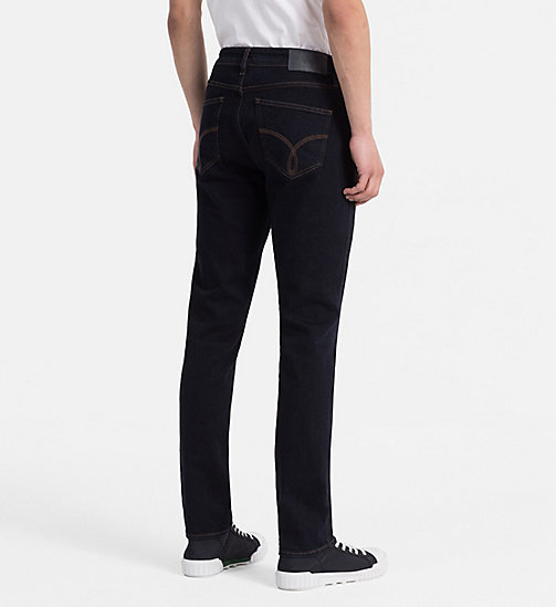 CALVIN KLEIN JEANS Sculpted Slim-Jeans - REAL RINSE - CALVIN KLEIN JEANS THE DENIM INDEX - main image 1