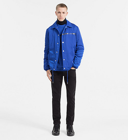 CALVIN KLEIN JEANS Padded Shell Jacket - OLYMPIAN BLUE - CALVIN KLEIN JEANS CLOTHES - detail image 1