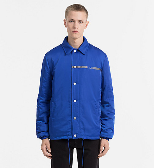 CALVIN KLEIN JEANS Padded Shell Jacket - OLYMPIAN BLUE - CALVIN KLEIN JEANS CLOTHES - main image