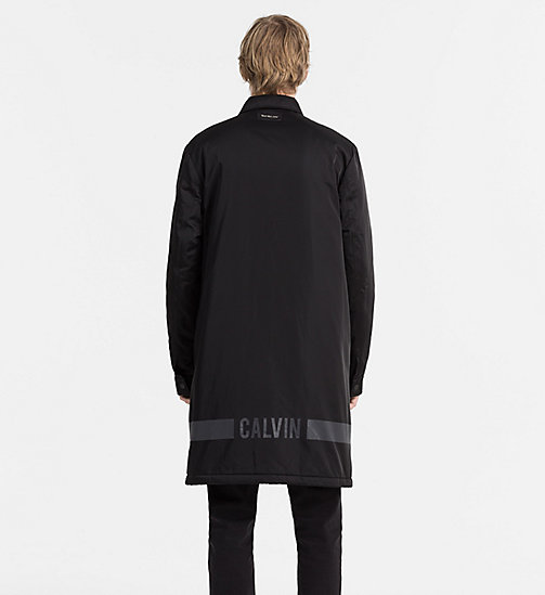 CALVIN KLEIN JEANS Padded Shell Coat - CK BLACK - CALVIN KLEIN JEANS NEW NECESSITIES - detail image 1