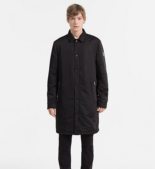 CALVIN KLEIN JEANS Padded Shell Coat - CK BLACK - CALVIN KLEIN JEANS NEW NECESSITIES - main image