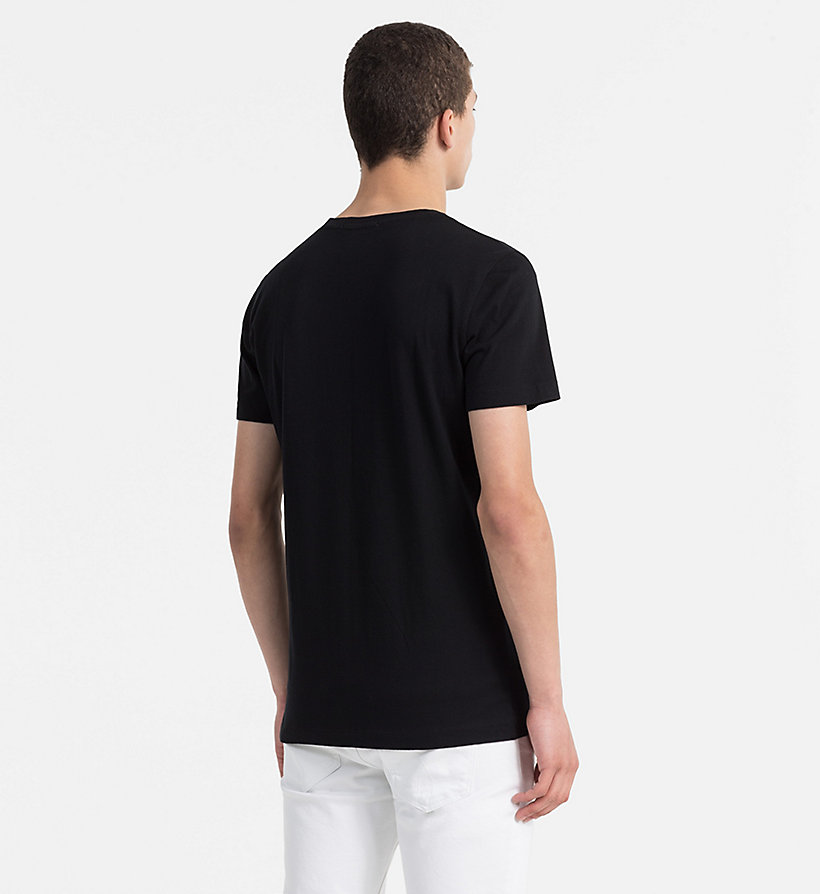 CALVIN KLEIN JEANS Slim Organic Cotton T-shirt - BRIGHT WHITE - CALVIN KLEIN JEANS MEN - detail image 2