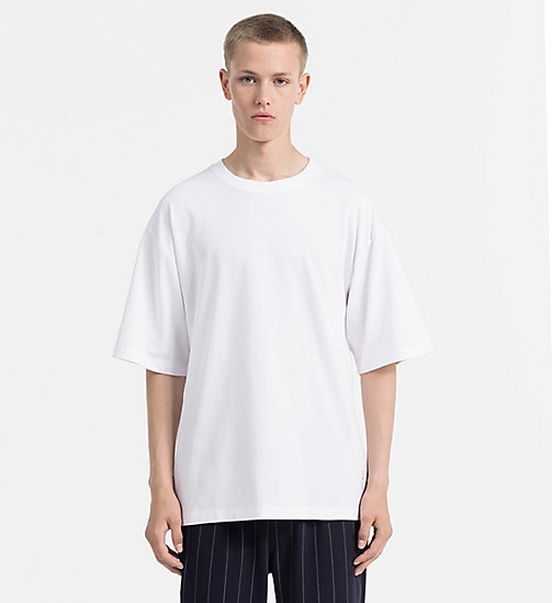 CALVIN KLEIN JEANS Oversized T-shirt - BRIGHT WHITE - CALVIN KLEIN JEANS T-SHIRTS - main image