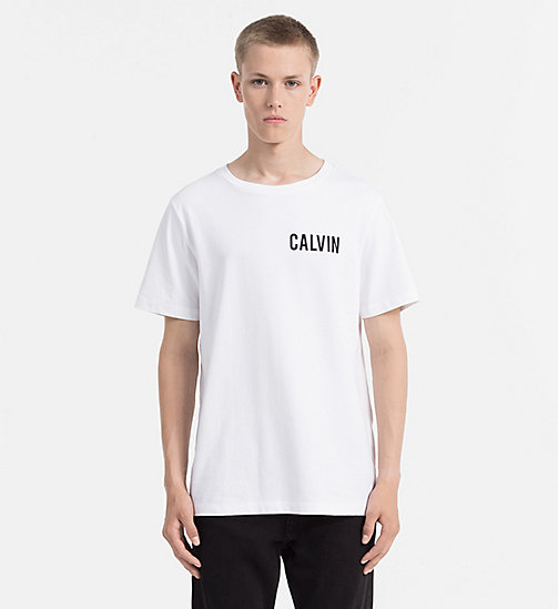 CALVIN KLEIN JEANS Regular Printed T-shirt - BRIGHT WHITE - CALVIN KLEIN JEANS CLOTHES - main image