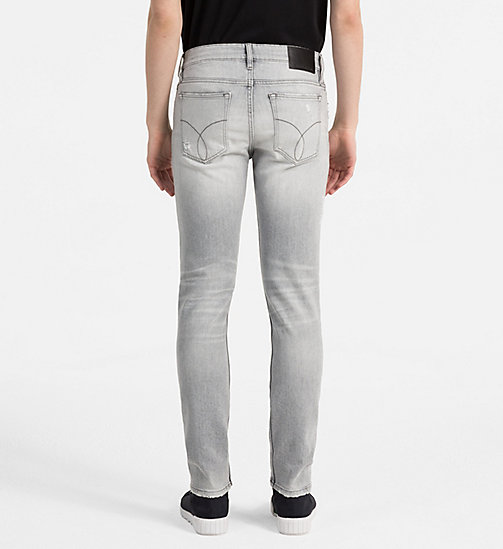 CALVIN KLEIN JEANS Skinny Jeans - ELECTRONIC GREY CMF - CALVIN KLEIN JEANS NEW IN - detail image 1
