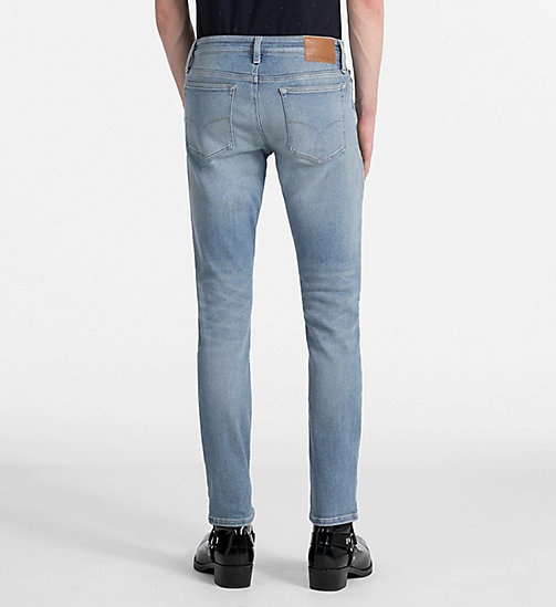 CALVIN KLEIN JEANS Slim Straight-Jeans - HAMPTONS BLUE -  NEW IN - main image 1