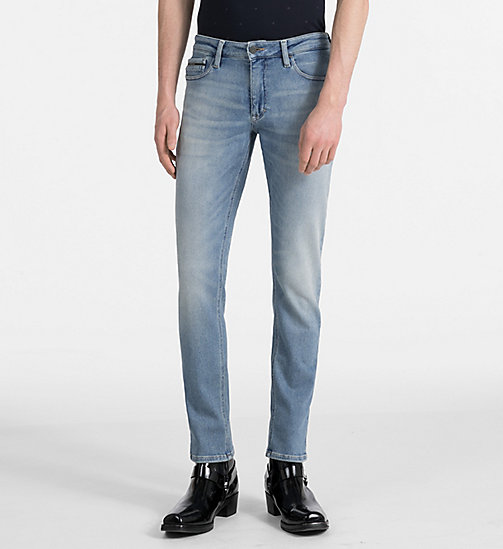 CALVIN KLEIN JEANS Slim Straight-Jeans - HAMPTONS BLUE -  NEW IN - main image
