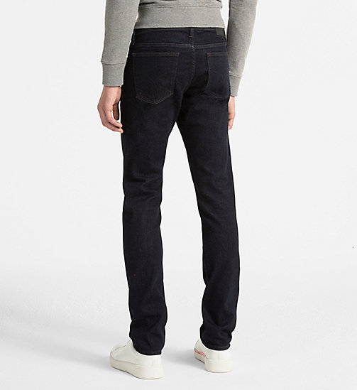 CALVIN KLEIN JEANS Slim Straight Jeans - TOPAZ RINSE - CALVIN KLEIN JEANS CLOTHES - detail image 1