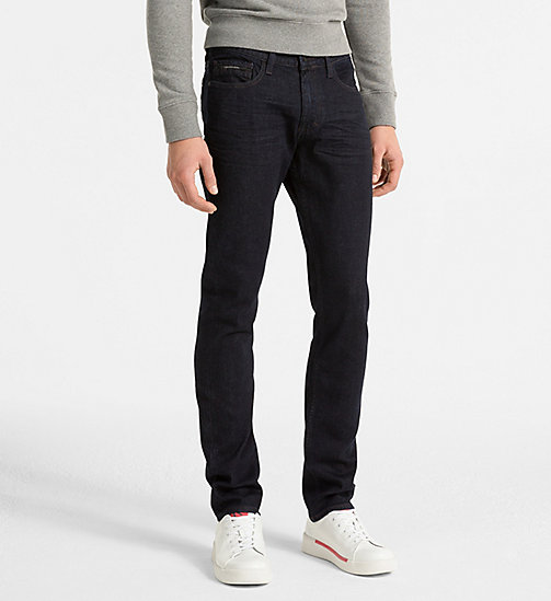 CALVIN KLEIN JEANS Slim Straight Jeans - TOPAZ RINSE - CALVIN KLEIN JEANS CLOTHES - main image
