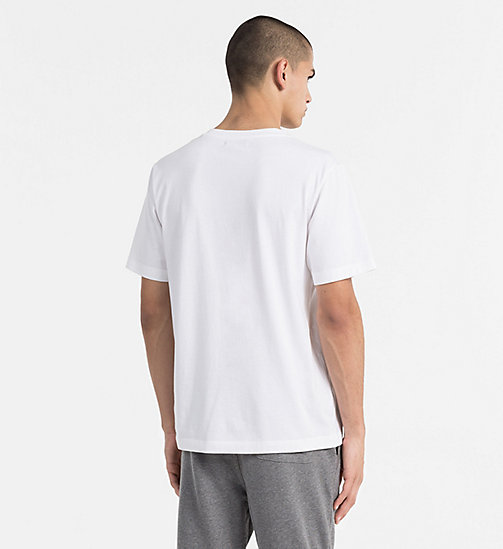 CALVIN KLEIN JEANS Bedrucktes T-Shirt - BRIGHT WHITE -  NEW IN - main image 1