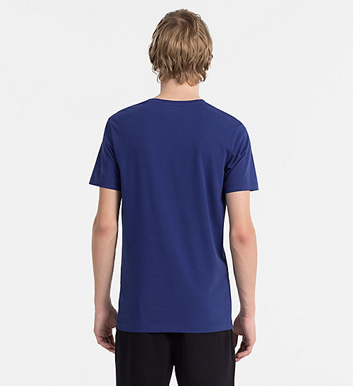 CALVIN KLEIN JEANS Slim Printed T-shirt - BLUE DEPTHS - CALVIN KLEIN JEANS NEW IN - detail image 1