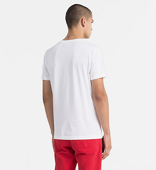 CALVIN KLEIN JEANS Printed T-shirt - BRIGHT WHITE - CALVIN KLEIN JEANS NEW IN - detail image 1