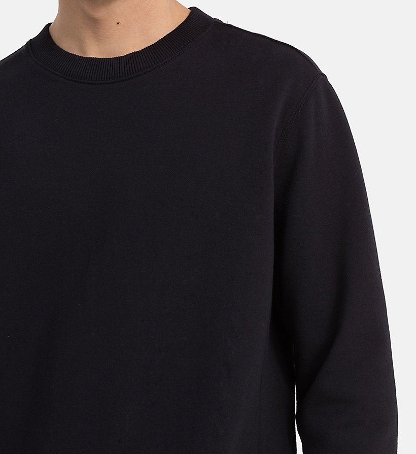 CALVIN KLEIN JEANS Cotton Terry Sweatshirt - SAFARI - CALVIN KLEIN JEANS MEN - detail image 3