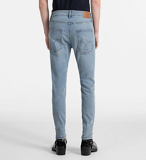 CALVIN KLEIN JEANS Skinny Tapered Jeans - BOWIE BLUE STR - CALVIN KLEIN JEANS CLOTHES - detail image 1