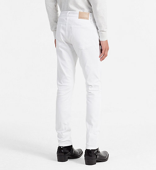 CALVIN KLEIN JEANS Slim Straight Jeans - GREAT WHITE CMF - CALVIN KLEIN JEANS NEW IN - detail image 1