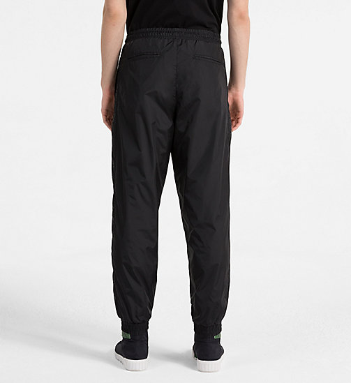CALVIN KLEIN JEANS Logo Sport Trousers - CK BLACK - CALVIN KLEIN JEANS NEW IN - detail image 1